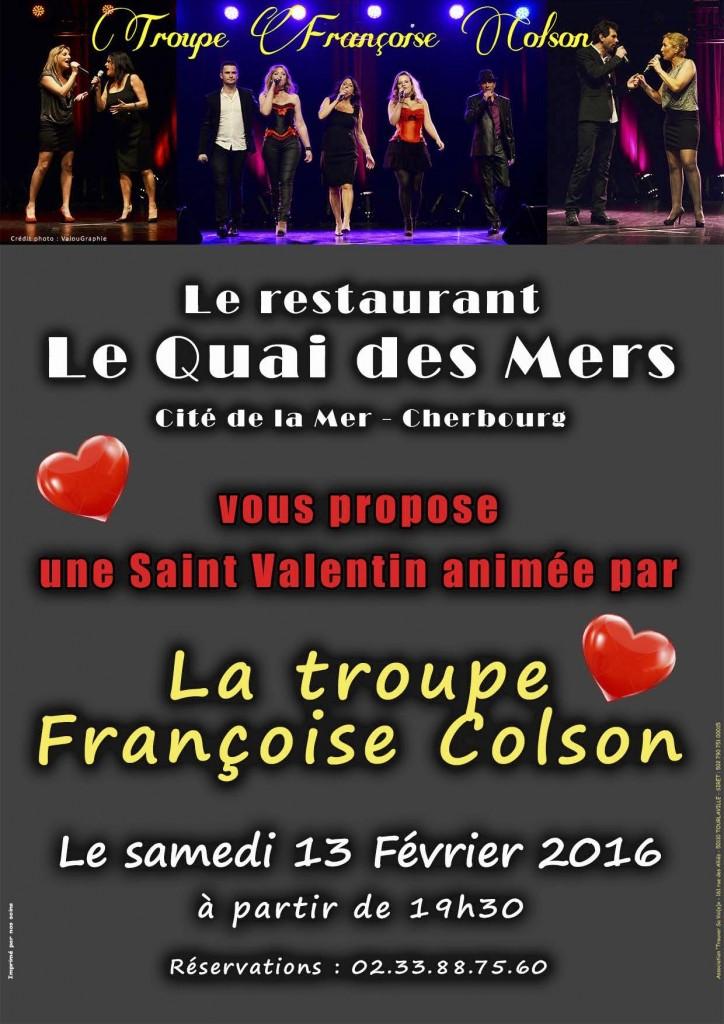 La troupe Françoise Colson fête l'amour !